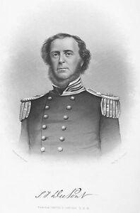 Navy-Rear-Admiral-SAMUEL-FRANCIS-DU-PONT-Civil-War-Blockade-1877-Engraving-Print