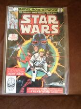 Marvel Movie Showcase 1 collects Star Wars 1, 2, 3 1982 Marvel Comics rare
