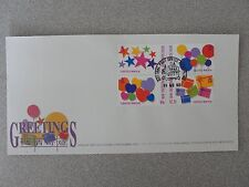 Hong Kong 1992 Greeting Stamps FDC, Excellent condition