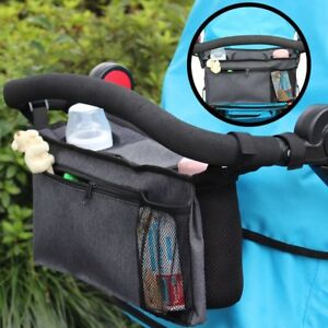 Buggy Organizer Kinderwagen Tasche Getränkeflasche Flaschenhalter Baby Kinder
