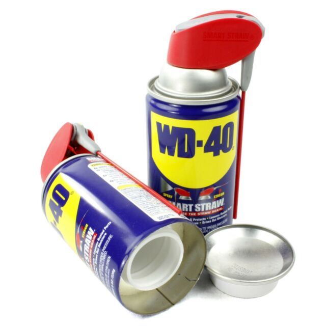 WD 40 HIDDEN LUBRICANT DIVERSION SAFE HOME STASH  CAN