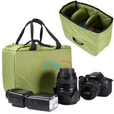 Waterproof Partition Padded Camera Bag SLR DSLR Insert Protection Case Pouch