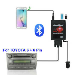 Car-Radio-MP3-Bluetooth-USB-AUX-3-5mm-Interface-CD-Changer-for-TOYOTA-for-Lexus