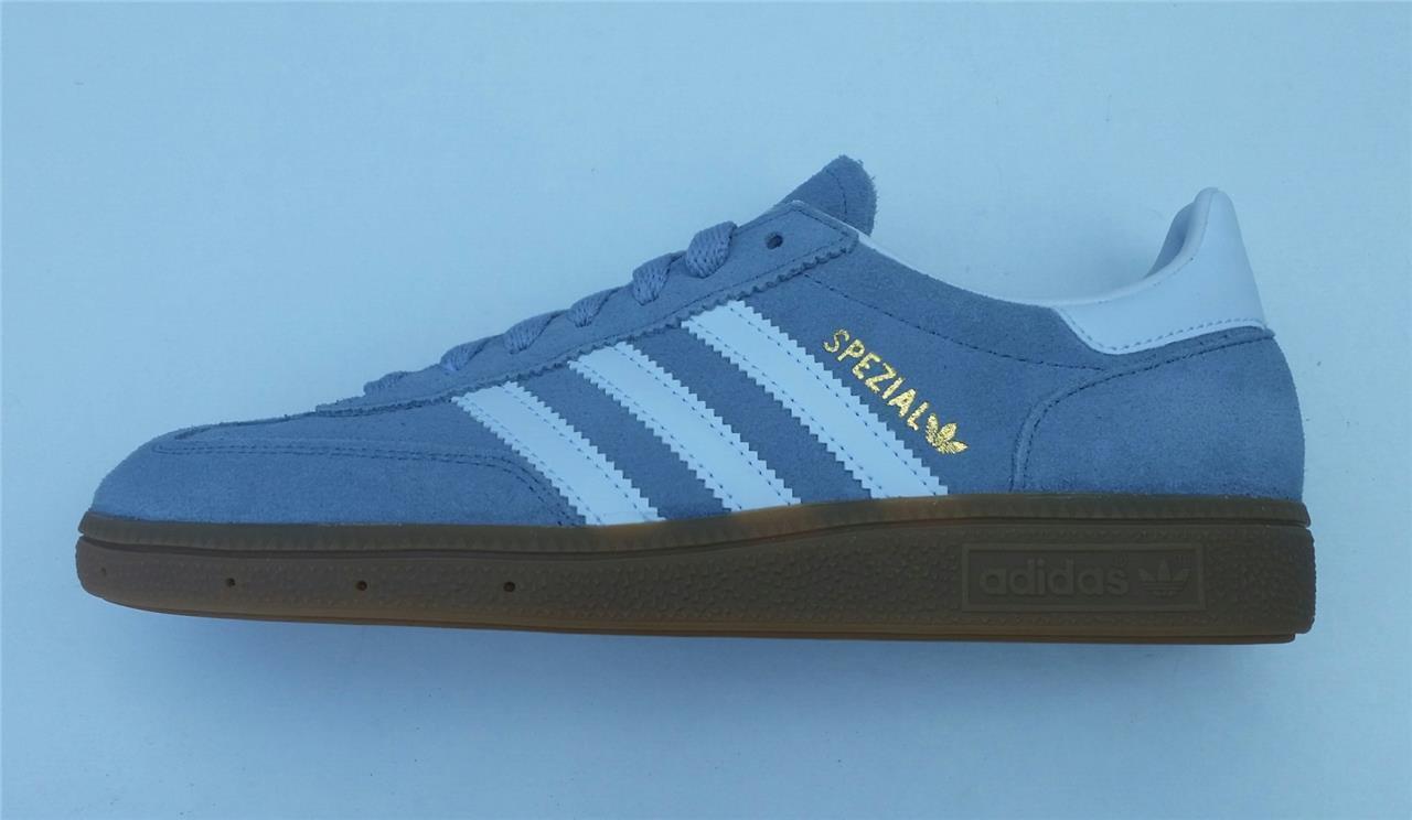 Adidas Herren Spezial Turnschuhe Jungen Retro Original Neu s81821 Leder UK 6,6