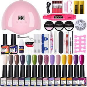 lemooc quick building uv gel builder nail gel polish