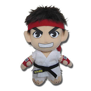 Details About Street Fighter Ryu 8 Plush Toy