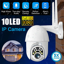 HD 1080P WIFI Cámara IP CCTV PTZ Exterior Inalámbrico Seguridad Casa Inteligente Cámara IR