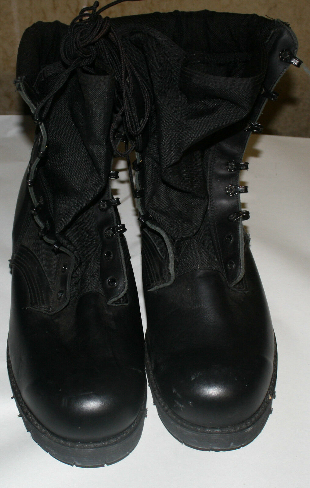 SPIKE PROTECTIVE TACTICAL BOOTS 5001 MENS SIZE 12.5 WIDE FREE SHIPPING