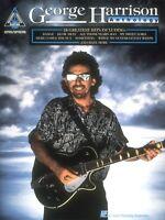 George Harrison Anthology Sheet Music Guitar Tablature 000694798