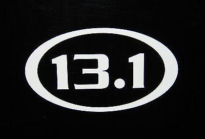 13.1 Half Marathon Decal Sticker Run Jog Runner *NEW