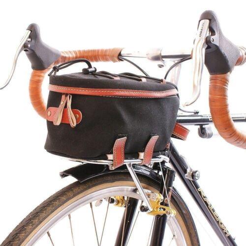 Zimbale Fahrrad Wasserdicht Leinen Vorne Rackbag 2 Liter Kapazität Schwarz