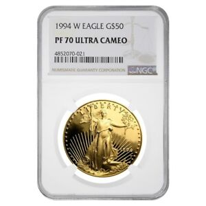1994-W-1-oz-50-Proof-Gold-American-Eagle-NGC-PF-70-UCAM