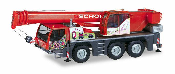 Herpa 309110 Liebherr LTM 1045 1 grúa Scholpp kinderkran h0 nuevo en el embalaje original