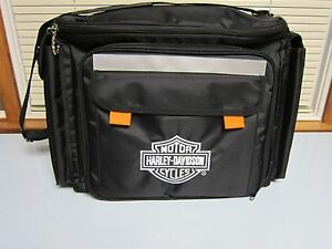 NEW Harley Davidson Motorcycle Thermal Insulated Picnic Cooler Bag Set w/cover