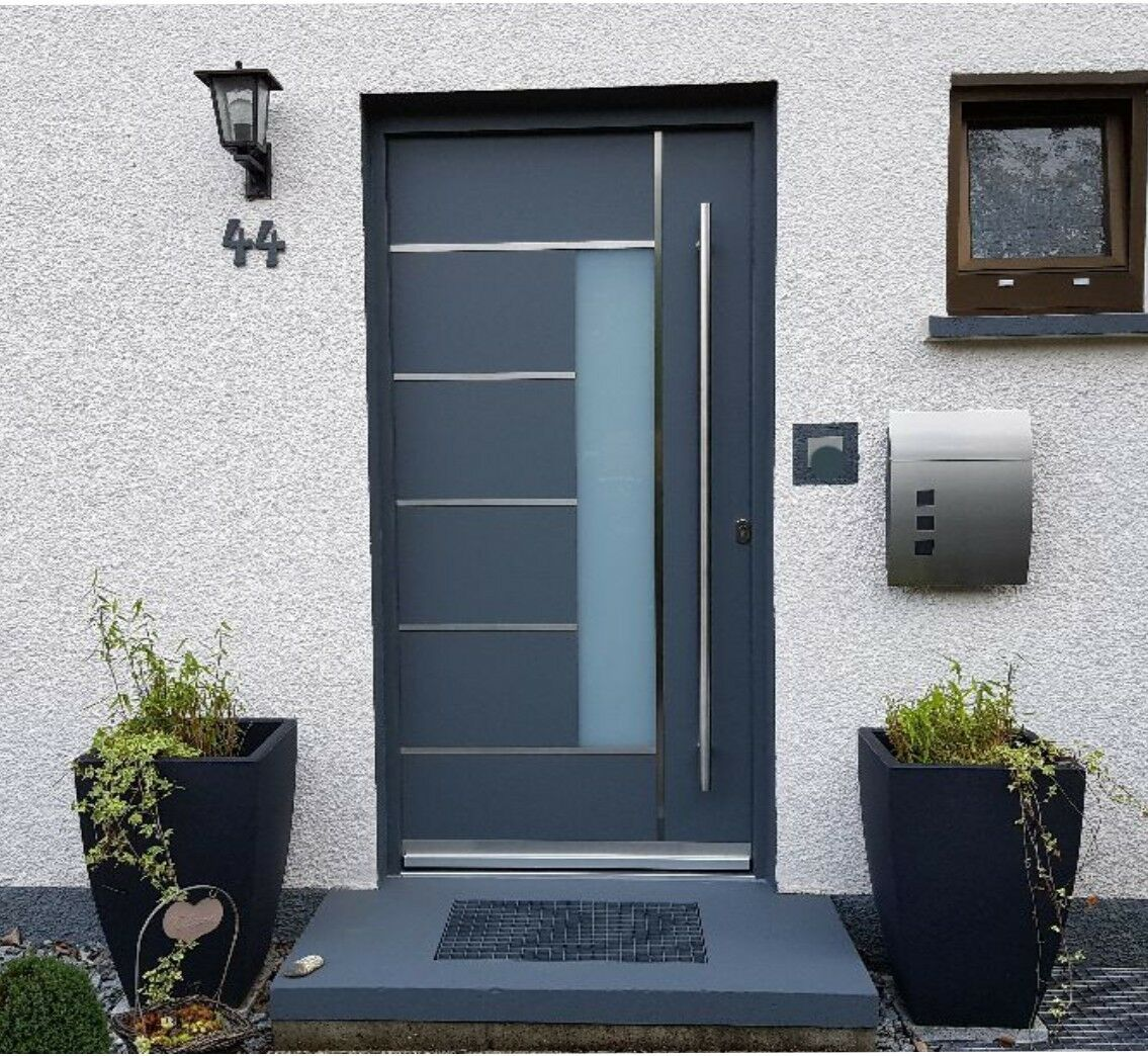 Haustür Welthaus WH94 Premiumtür Aluminium mit Kunststoff  LA40 Tür Hamburg