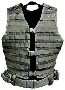 NEW NcStar Digital CAMO ACU Molle WEB PALS Modular Tactical Protective Vest Gear