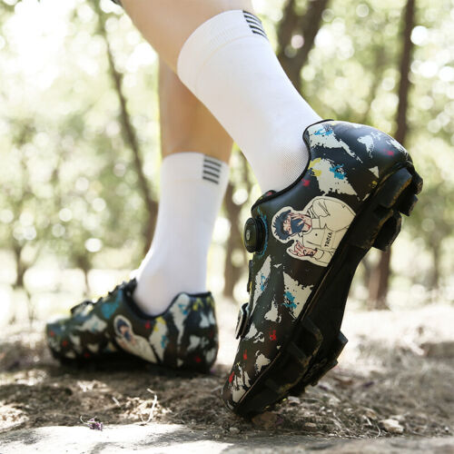 Details about  /MTB Professional Mountain Road Cycling Shoes Men SPD Bike Bicycle Racing Sneaker