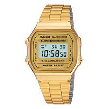 Vintage Casio A168WG-9W Gold Digital Watch NEW A168 Japan