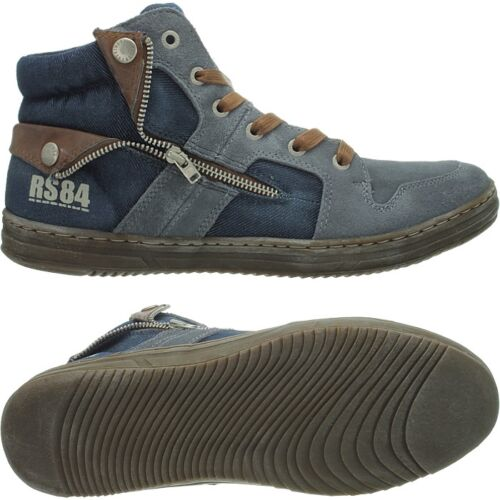 over Hi uomo Novità Casual top da used Scarpe Blue Redskins Minski All look Sneakers WF4xOTnv