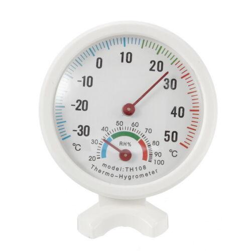 35-55°C Mini Indoor Analog Temperature Humidity Meter Thermometer Hygrometer