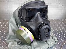 Avon M53 C50 M50 Protective Gas Mask 40mm NATO w/Everything! New NBC/CBRN Filter