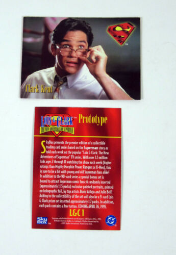 Nm//Mt 1995 Skybox Lois /& Clark The New Adventures of Superman Promo Card L/&C1