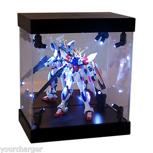 Mb Display Box Acrylic Case Led Light House For Gundam 1