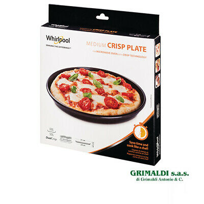 PIATTO CRISP ORIGINALE WHIRLPOOL BASE 29 cm BORDO 31 cm AVM290