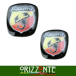 ADESIVO ORIGINALE ABARTH RESINATO FIAT GRANDE PUNTO 500