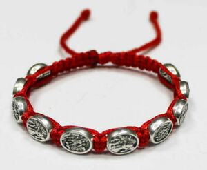 St-Michael-the-Archangel-the-and-Guardian-Angel-bracelet-Red-Cord-St-Michael