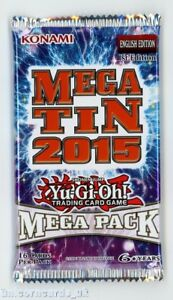 Details about YuGiOh! 2015 Mega-Tin Mega Pack 1st Edition New and Sealed  Booster Pack x1