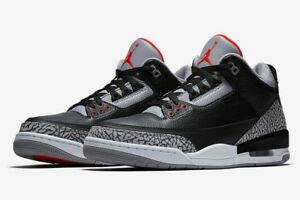 6eec69f29e29 2018 Air Jordan Retro 3 OG Black Cement Size 10.5 brand new in box ...