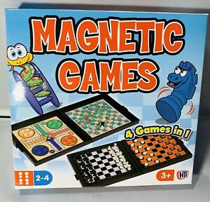 Magnetc-Games-4-Games-in-1-A-Perfect-Travel-Game-Condition-New