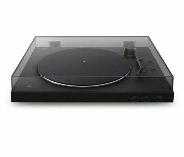 Tocadiscos con conectividad Bluetooth Sony PS-LX310BT – restaurada con Garantía
