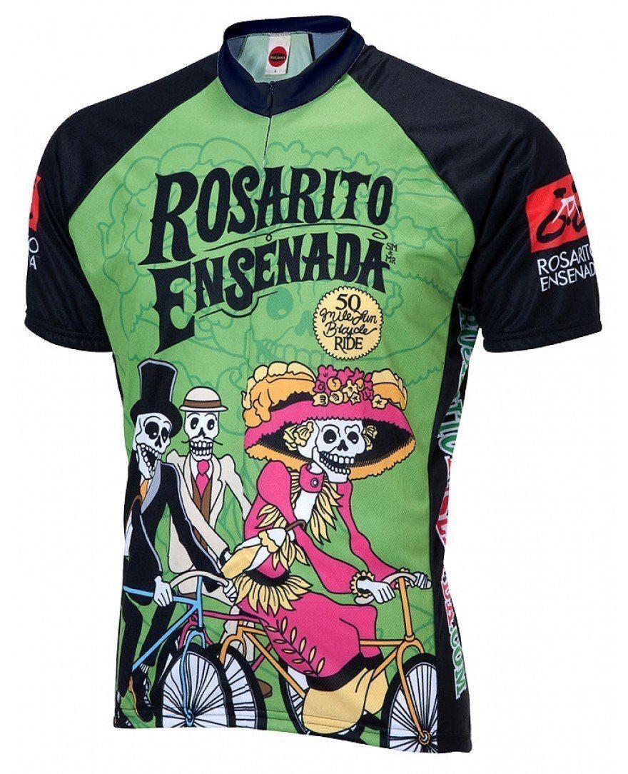 Rosarito Ensenada Tag Tag Tag der Toten Fahrrad Trikot f328fa
