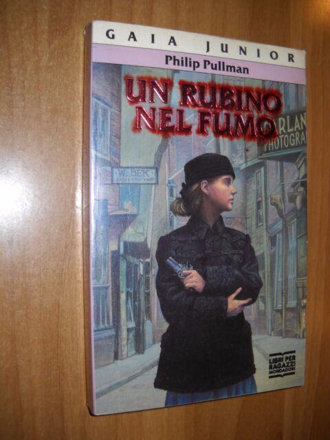 LIBRO - UN RUBINO NEL FUMO - P.PULLMAN - MONDADORI 92 - NUOVO MA - 7 -