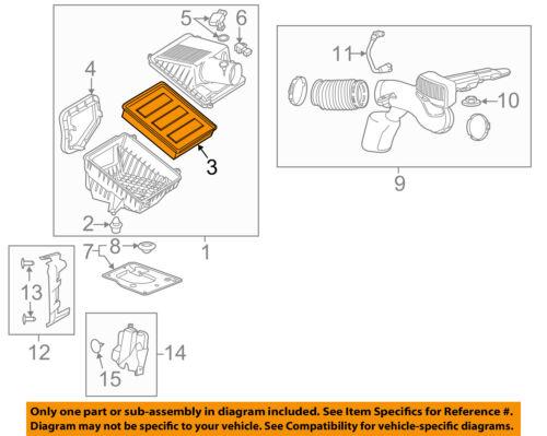 GM OEM-Air Filter 23349854