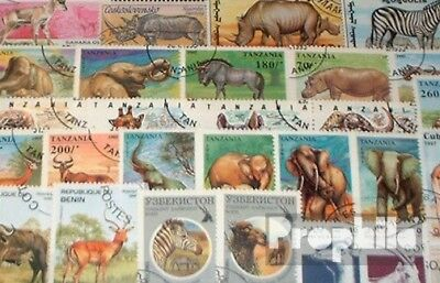 Africa 50 Different African Animals Stamps Animal Kingdom