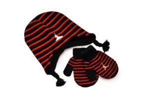 Caricamento dell immagine in corso Neonati-Nike-Jordan-2-pezzi-Cappello-e- Guanti- 06bb3502ee35