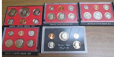 Mint San Francisco Mint SBA Dollar 1979 1980 1981 1982 1983 Proof Sets U.S
