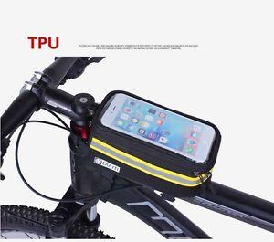 Waterproof-Reflective-Frame-Front-Tube-Bicycle-Bag-Bike-TPU-Mobile-Phone-Case