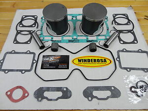 Details about SKI DOO 800R PISTON KIT WITH BEARINGS GASKETS ALL ETEC'S  2012-2017 2007 SUMMIT'S