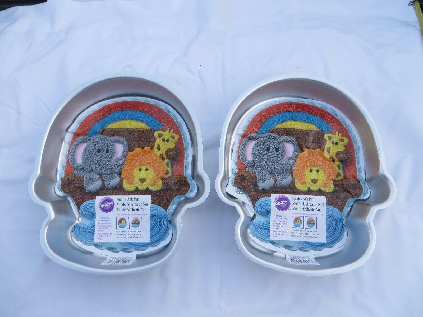 Wilton Noah Ark Cake Pan  2105-0249 Rainbow New Style