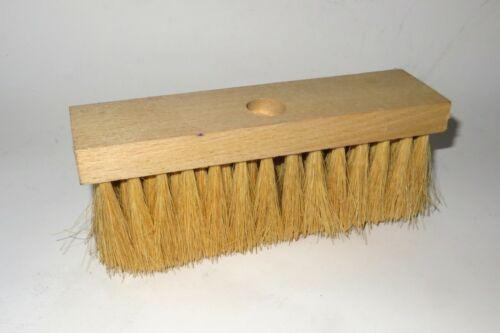 Teerbesen Teerschrubber 21,5cm 14x6 Reihen mit Stielloch hitzebeständig NEU