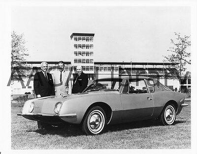 Ref. # 25513 1963 Studebaker Avanti w// Miss Dominion Factory Photo