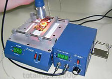 Preheating Oven T8120 + IRDA WELDER T835 rework station