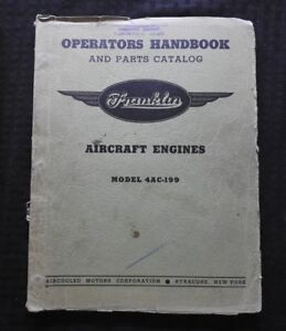 image is loading franklin-4ac-199-0-200-aircraft-engine-overhaul-