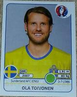 566 Ola Toivonen SWEDEN Panini Euro 2016 France sticker