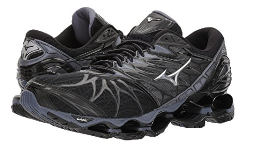 mizuno mens running shoes size 9 youth gold and silver