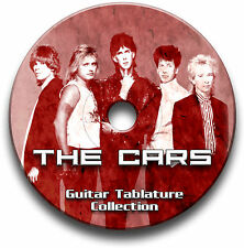 THE CARS POP ROCK GUITAR TABS TABLATURE SONG BOOK ANTHOLOGY SOFTWARE CD